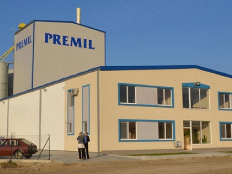 Ugradnja led rasvete u fabrici Premil